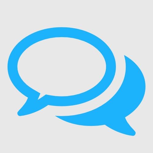 icoon dialoog vraag/antwoord